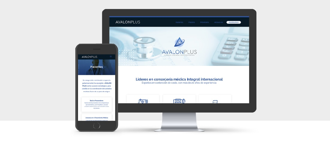 AP website responsive